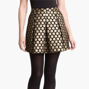 Vince Camuto Dotted Jacquard Skirt